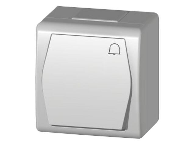Łącznik natynkowy HERMES 2 dzwonek ŁNT biały Elektro-plast N.