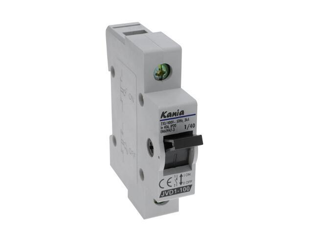Rozłącznik bezpiecznikowy JVD1-100 1/40A Kanlux