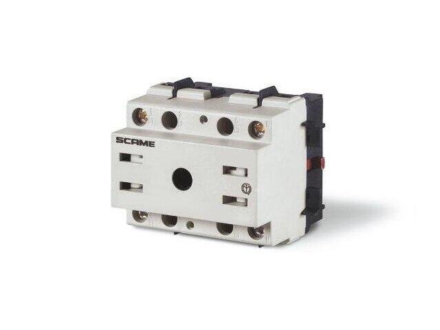 Rozłącznik główny MANOVRA 80A 2P montaż na podstawie Scame