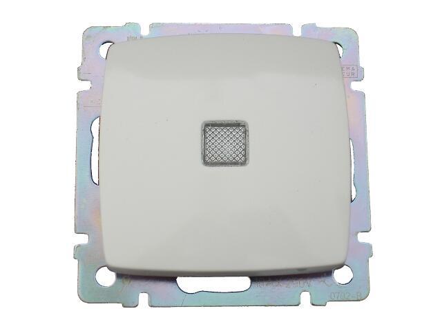 Łącznik modułowy SUNO schodowy z podświetleniem 774026 biały Legrand
