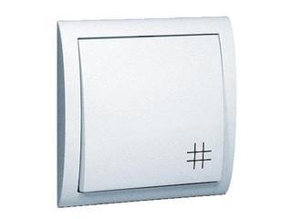 Łącznik natynkowy Classic krzyżowy MW7/11 biały Kontakt Simon