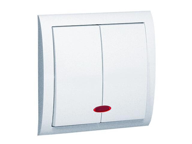 Łącznik Classic świecznikowy z podśw. MW5L/11 biały Kontakt Simon