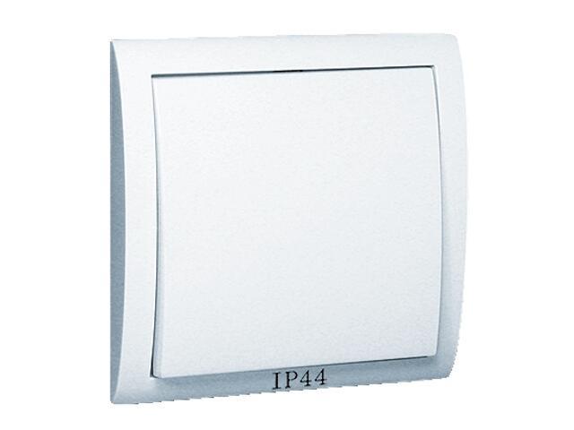 Łącznik Classic jednobiegunowy bryzgoszczelny MW1B/11 biały Kontakt Simon