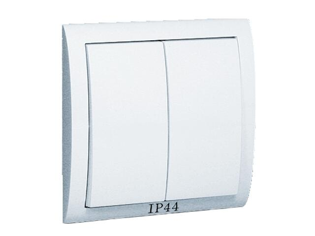 Łącznik natynkowy Classic świecznikowy bryzgoszczelny MW5B/11 biały Kontakt Simon