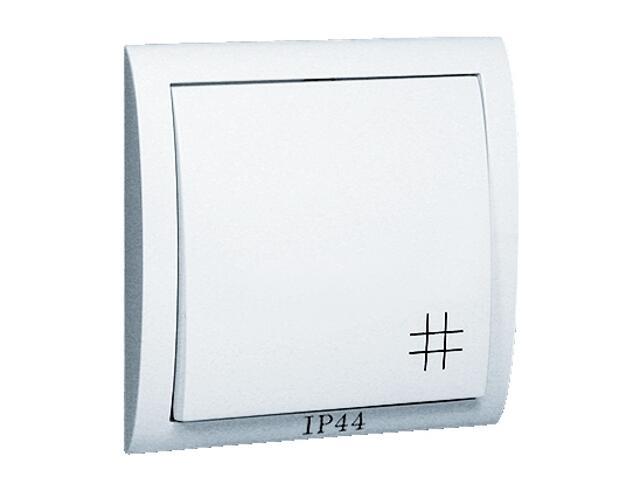 Łącznik natynkowy Classic krzyżowy bryzgoszczelny MW7B/11 biały Kontakt Simon