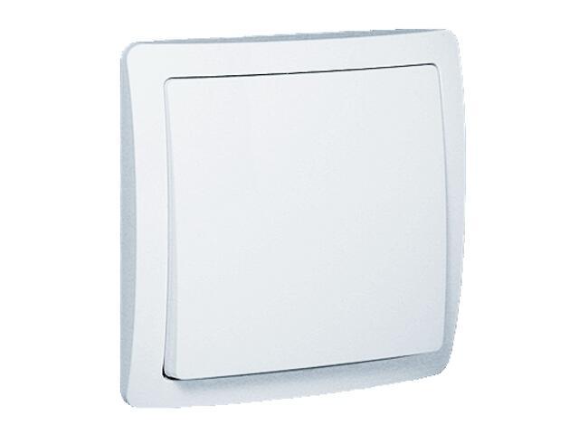 Łącznik Basic jednobiegunowy BW1e/11 biały Kontakt Simon