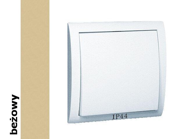 Łącznik natynkowy Classic jednobiegunowy bryzgoszczelny MW1B/12 beżowy Kontakt Simon