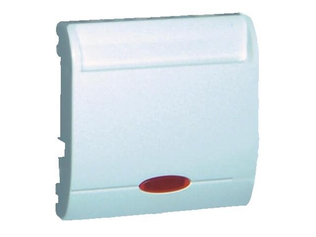 Łącznik modułowy Classic hotelowy pojedynczy 2 x 10A MWH2.02/11 biały Kontakt Simon