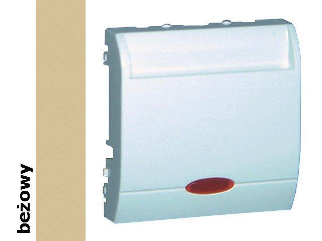Łącznik modułowy Classic hotelowy pojedynczy 10A MWH1.02/12 beżowy Kontakt Simon