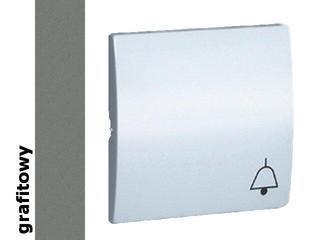 Klawisz Classic do przycisku dzwonek MKD1/25 grafit Kontakt Simon