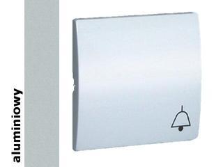 Klawisz Classic do przycisku dzwonek MKD1/26 aluminium srebrny Kontakt Simon