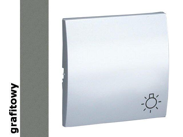 Klawisz Classic do przycisku światło MKS1/25 grafit Kontakt Simon
