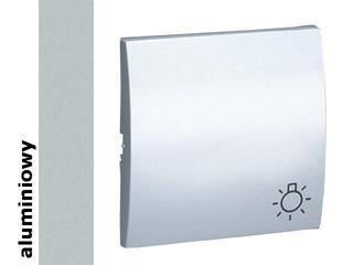 Klawisz Classic do przycisku światło MKS1/26 aluminium srebrny Kontakt Simon