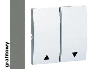 Klawisz Classic do przycisku żaluzjowego MKZ1/25 grafit Kontakt Simon