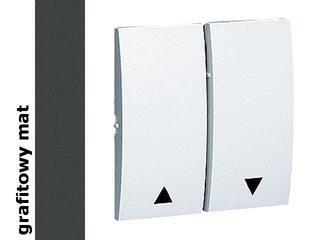 Klawisz Classic przycisku żaluzjowego MKZ1/28 matowy grafit Kontakt Simon
