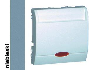 Łącznik modułowy Classic hotelowy pojedynczy 10A MWH1.02/23 niebieski Kontakt Simon