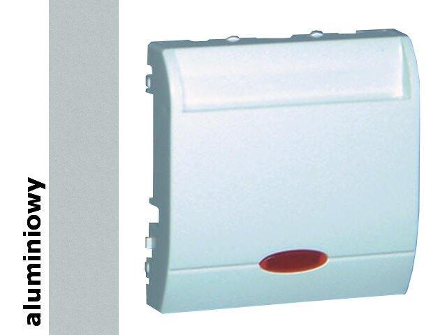 Łącznik modułowy Classic hotelowy poj.10A MWH1.02/26 alum. srebrny Kontakt Simon