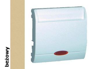 Łącznik modułowy Classic hotelowy pojedynczy 2 x 10A MWH2.02/12 beżowy Kontakt Simon