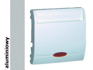 Łącznik modułowy Classic hotelowy poj.2x10A MWH2.02/26 alum. srebrny Kontakt Simon