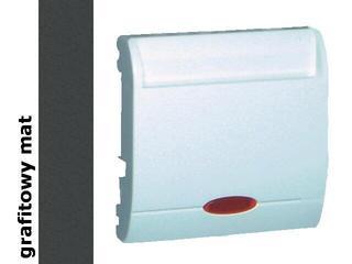 Łącznik modułowy Classic hotelowy poj.2x10A MWH2.02/28 matowy grafit Kontakt Simon