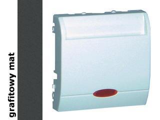 Łącznik modułowy Classic hotelowy poj.10A MWH1.02/28 matowy grafit Kontakt Simon