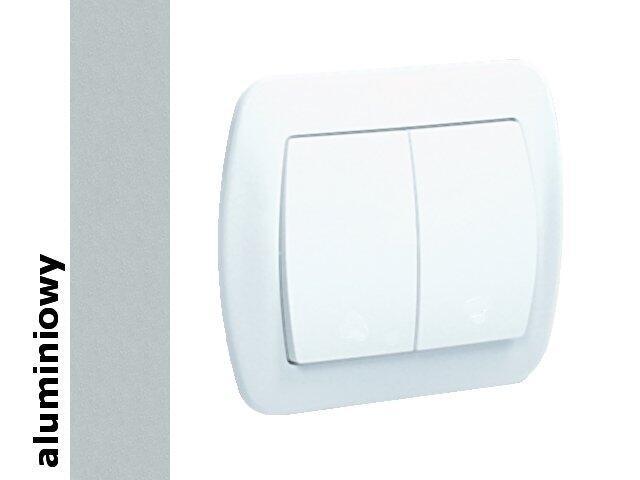 Łącznik Akord świecznikowy AW5/26 aluminium srebrny Kontakt Simon