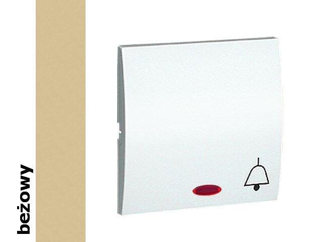 Klawisz Classic do przycisku dzwonek z podśw. MKD1L/12 beżowy Kontakt Simon