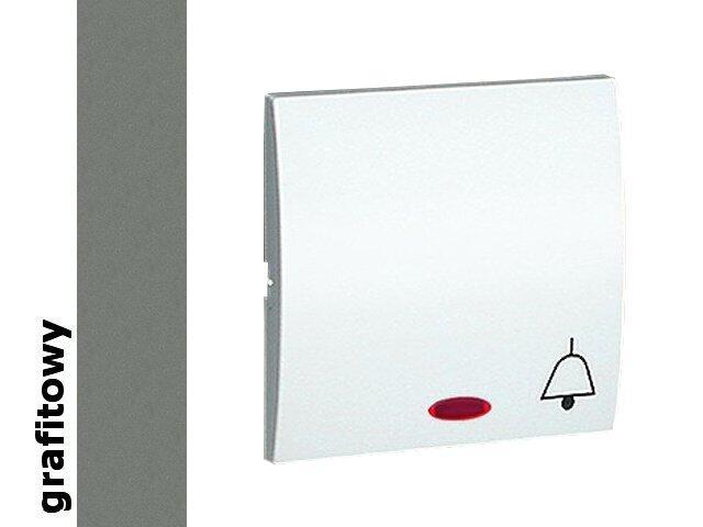 Klawisz Classic do przycisku dzwonek z podśw. MKD1L/25 grafit Kontakt Simon