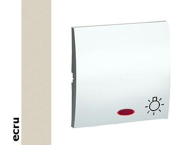 Klawisz Classic do przycisku światło z podśw. MKS1L/10 ecru Kontakt Simon
