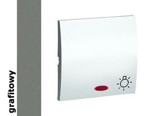 Klawisz Classic do przycisku światło z podśw. MKS1L/25 grafit Kontakt Simon