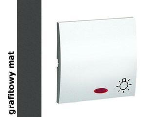 Klawisz Classic przycisku światło MKS1L/28 matowy grafit Kontakt Simon