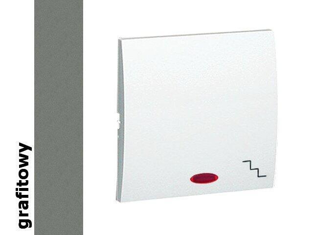 Klawisz Classic do wył. schodowego z podśw. MKW6L/25 grafit Kontakt Simon
