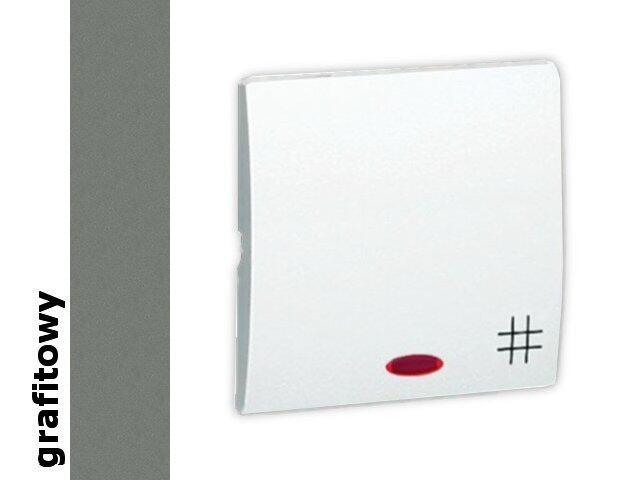 Klawisz Classic do wył. krzyżowego z podśw. MKW7L/25 grafit Kontakt Simon
