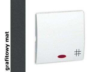 Klawisz Classic do wył. krzyżowego MKW7L/28 matowy grafit Kontakt Simon