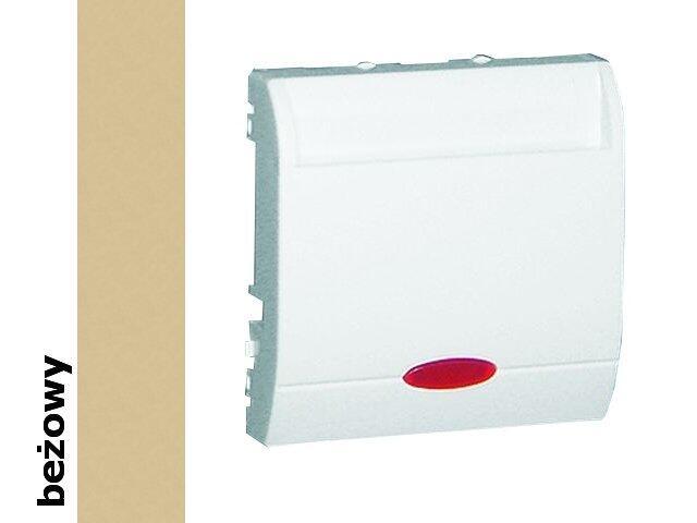 Łącznik natynkowy Basic hotelowy podwójny BMWH2.02/12 beżowy Kontakt Simon