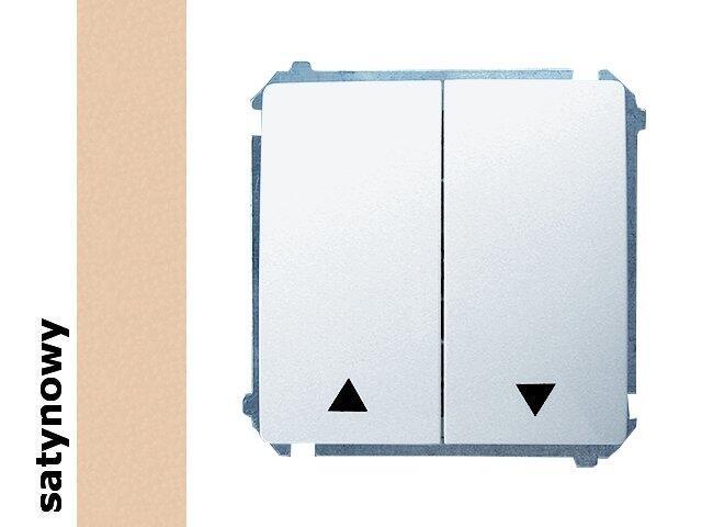 Łącznik modułowy Basic żaluzjowy BMZ1.01/29 satynowy Kontakt Simon