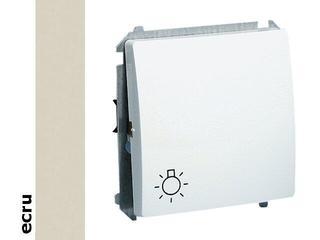 Łącznik modułowy Basic światło BMS1.01/10 ecru Kontakt Simon