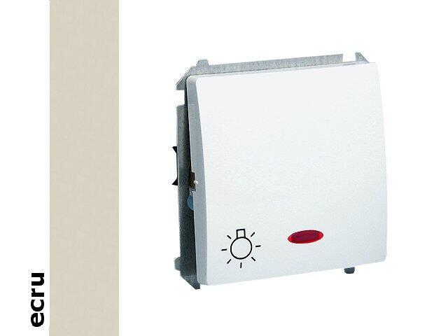 Łącznik modułowy Basic światło z podśw. BMS1L.01/10 ecru Kontakt Simon