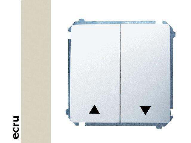 Łącznik modułowy Basic żaluzjowy BMZ1.01/10 ecru Kontakt Simon