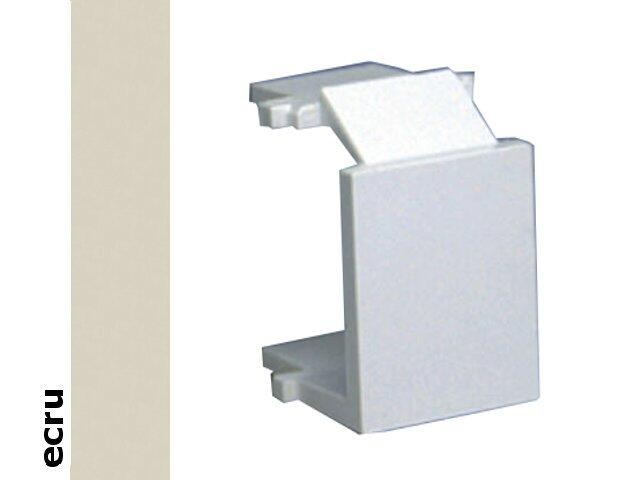 Łącznik natynkowy Basic -zaślepka gniazda komputerowego PL-899/10 ecru Kontakt Simon