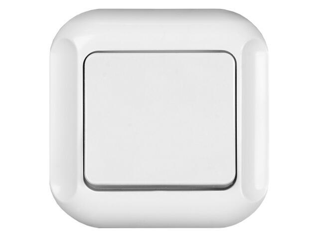 Łącznik natynkowy TOPAZ-BIS światło WP-6Tb biały Abex