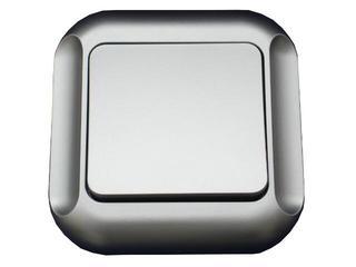Łącznik modułowy TOPAZ-BIS światło/dzwonek WP-6/7Tb srebrny Abex