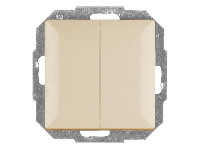 Łącznik modułowy PERŁA świecznikowy WP-2P beżowy Abex