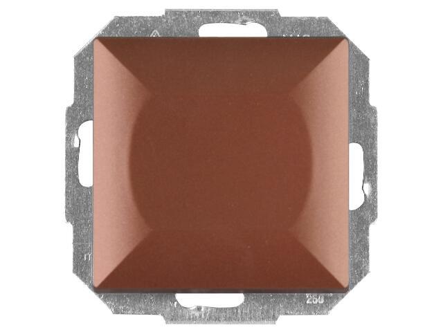 Łącznik modułowy PERŁA schodowy z podśw. WP-1/5PS miedź Abex