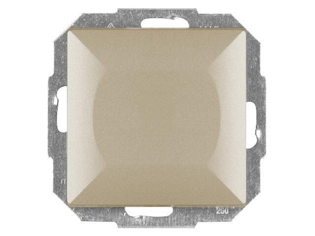 Łącznik modułowy PERŁA światło/dzwonek WP-6/7P satyna Abex