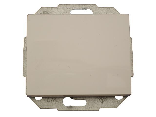 Łącznik modułowy NOVA światło/dzwonek z podśw. WP-6/7NS biały Abex