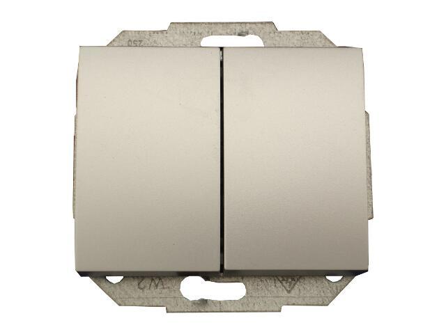 Łącznik modułowy NOVA świecznikowy WP-2N srebrny Abex