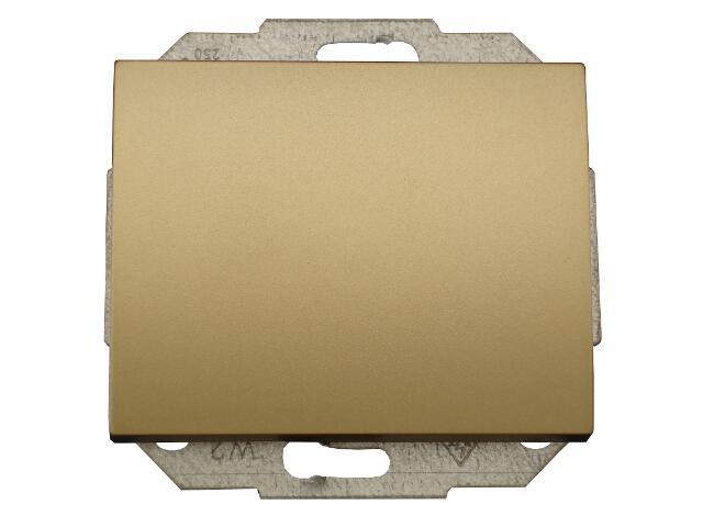 Łącznik modułowy NOVA światło/dzwonek z podśw. WP-6/7NS złoty Abex