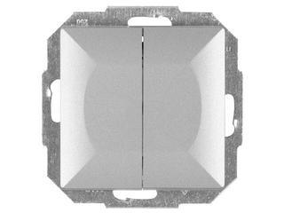 Łącznik modułowy PERŁA świecznikowy z podśw. WP-2P/S srebrny Abex