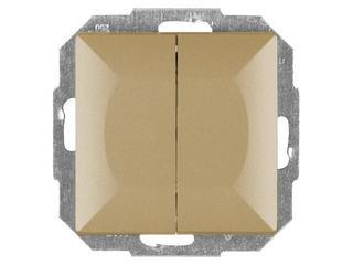 Łącznik modułowy PERŁA świecznikowy z podśw. WP-2P/S złoty Abex
